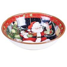 Santa's Workshop Serving Bowl