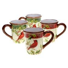 Winter Wonder 14 Oz. Mugs (Set of 4)