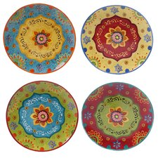 "Tunisian Sunset 10.5"" Dinner Plate (Set of 4)"