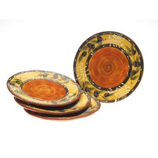 "French Olives 11.25"" Dinner Plate (Set of 4)"