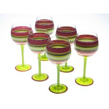 Hot Tamale White Wine Glass (Set of 6)