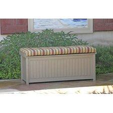 Brisbane Cushion Top Plastic Deck Box