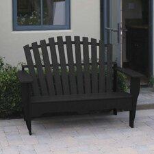 Adirondack Plastic Garden Bench