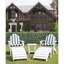 Adirondack Chesapeake Chair and Footstool Set