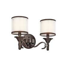Lacey 2 Light Bath Vanity Light