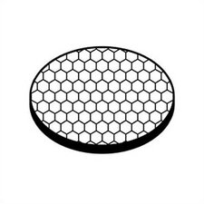 Landscape 45 Degree Hexcell Louver Glare Reduction Lens
