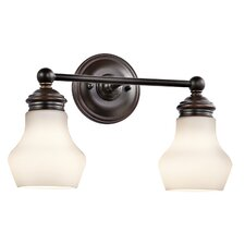 Currituck 2 Light Bath Vanity Light