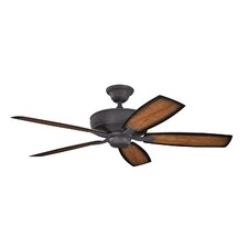 "52"" Monarch II 5 Blade Patio Ceiling Fan"