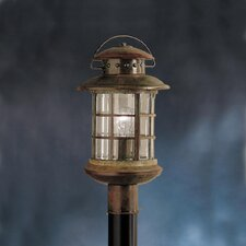 Rustic Outdoor Post Lantern