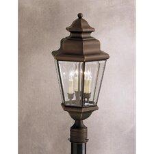 Savannah Estates 3 Light Outdoor Post Lantern