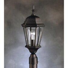 """Madison 1 Light 9.5"""" Outdoor Post Lantern"""