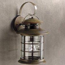 Rustic 1 Light Wall Lantern