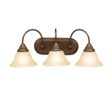 Telford 3 Light Vanity Light