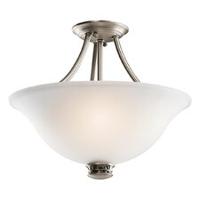 Durham 2 Light Semi Flush Mount