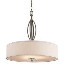 Leighton 3 Light Inverted Drum Pendant