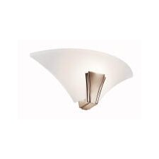 Oviedo One Light Wall Sconce in Polished Nickel