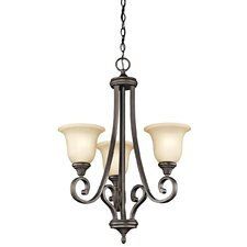 Monroe 3 Light Chandelier