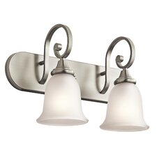 Monroe 2 Light Bath Vanity Light