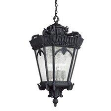 Tournai 4 Light Outdoor Hanging Lantern