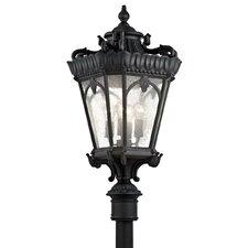 """Tournai 4 Light 17"""" Outdoor Post Lantern"""