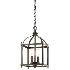 Larkin 2 Light Foyer Pendant