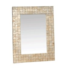 Chesapeake Mirror with Capiz Shell