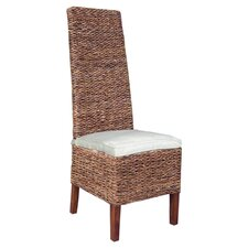 Lusida High Back Abaca Chair (Set of 2)