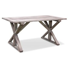 Boho Cross Base Dining Table