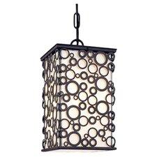 Aqua Exterior 1 Light Outdoor Hanging Lantern