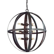 Flatiron 12 Light Extra Large Foyer Pendant