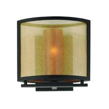 Chinois 1 Light Small Wall Sconce