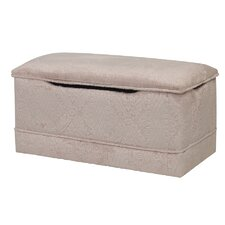 Deluxe Toy Box in Beige Texture Chenille