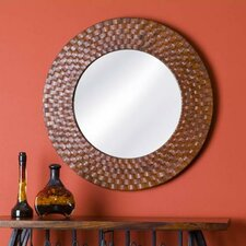 Saddler Round Wall Mirror