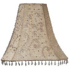 "12"" Dupioni Silk Bell Lamp Shade"
