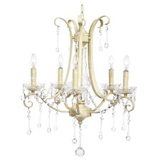 Colleen 5 Light Crystal Chandelier