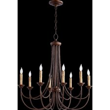 Brooks 8 Light Candle Chandelier
