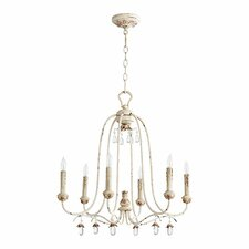 Venice 6 Light Candle Chandelier