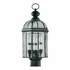 Wellsley 3 Light Post Lantern