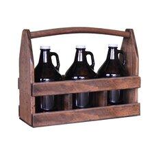 3 Growler Beer Caddy