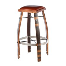 "Stave 32"" Bar Stool with Cushion"