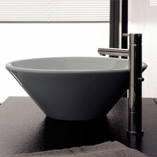 Cono Above Counter Bathroom Sink
