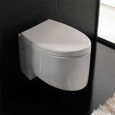 Zefiro Wall Mounted Elongated 1 Piece Toilet
