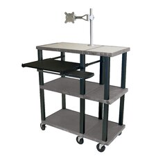 Tuffy 70 Series Open Shelf Extra Wide Presentation Station