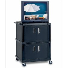 Tuffy Mobile Dual Cabinet Cart