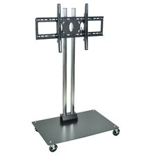 Universal Mobile Flat Panel Display TV Stand