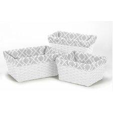 Diamond 3 Piece Basket Liner Set
