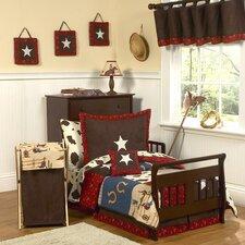 Wild West Cowboy 5 Piece Toddler Bedding Set