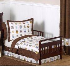 Night Owl 5 Piece Toddler Bedding Set