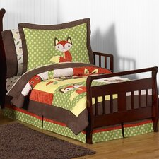 Forest Friends 5 Piece Toddler Bedding Set