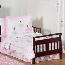Ballerina 5 Piece Toddler Bedding Set